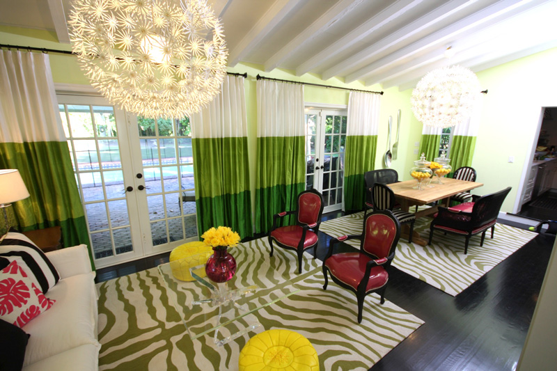 Innate2decorate ode to the room easy being green for David bromstad living room designs