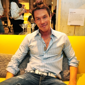 David at the opening for the new CB2 store in Miami