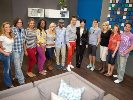 Design Star Team w: Kris Jenner