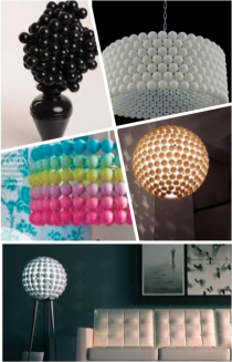 Design Tip Thurs. Ping Pong Light