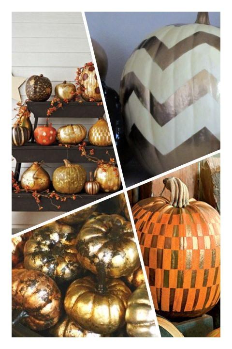 Design Tip: Metallic Pumpkins!