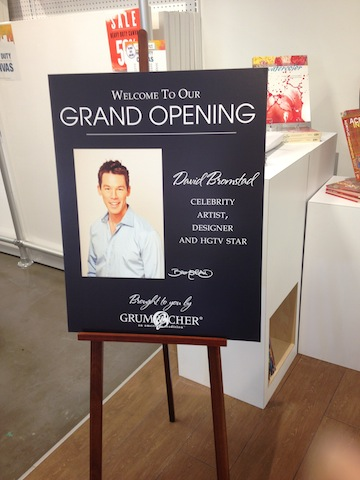 Aaron Brothers West Hollywood Store Opening