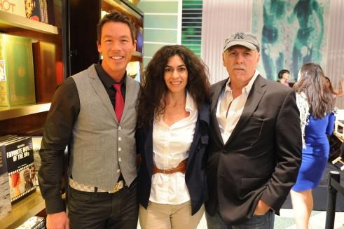 David Bromstad, Minerva Arboleya, & Silvio Sulichin