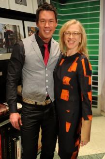 David Bromstad & Valerie Steele